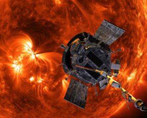 Espaçonave entra no Sol pela primeira vez