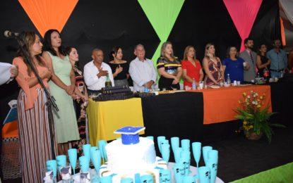 Rede Municipal de Ensino realiza a formatura dos alunos do 9º ano em Guadalupe