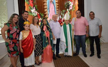 Júlio César e Georgiano Neto prestigiam os festejos da Padroeira de Guadalupe