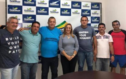 Prefeita Neidinha acerta detalhes da 36ª Copa Nordeste de Futebol de Base, que será realizada em Guadalupe