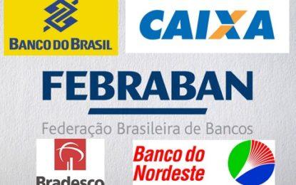 Bancos não terão expediente na terça-feira e no dia 1º