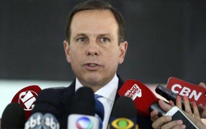 Lula solto impacta mais ainda eleições, afirma Doria