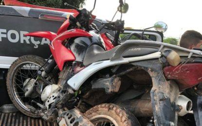Polícia Militar recupera 04 motos que foram roubadas em Canavieira