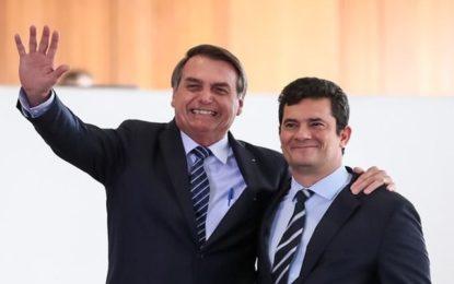 Bolsonaro articulou ministério que enfraquece Sérgio Moro