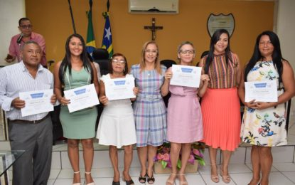 Presidente do CMDCA dá posse aos novos membros do Conselho Tutelar de Guadalupe