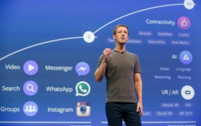 Facebook registra lucro líquido de US$ 7,35 bilhões no 4º trimestre de 2019