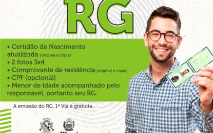 Espaço Cidadão tem a dispõe de 2.000 RG's em Floriano
