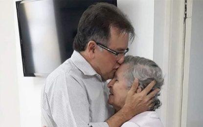 Mãe do secretário Merlong Solano, morre aos 85 anos