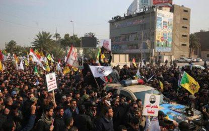 Milhares de pessoas participam do funeral de general iraniano assassinado pelos EUA