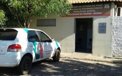 Homem é preso após agredir pai, mãe e irmã a pauladas no Piauí