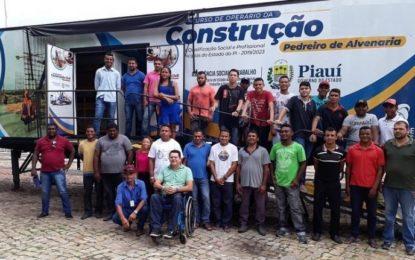 Prefeitura Municipal de Jerumenha oferta Curso de Construção Civil