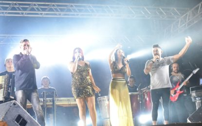 Show da Banda Líbanos anima o aniversário de 130 anos de Jerumenha