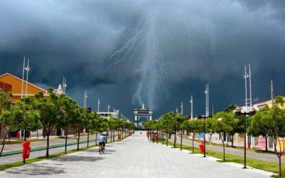 Inmet emite alerta de chuvas fortes para o Sul do Piauí