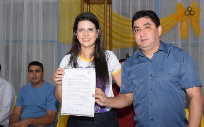 Presidente da Fundespi assina ordem de serviço para reforma da Quadra Central de Esportes em Jerumenha