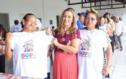 Assistência Social de Guadalupe promove festa para os idosos do CCI