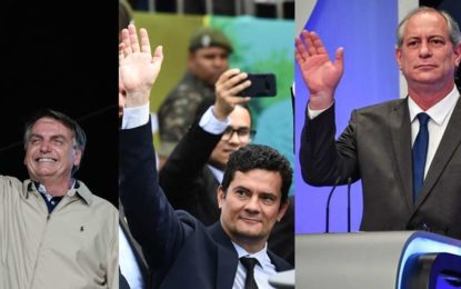 Bolsonaro, Moro e Ciro disputam paternidade de fim do motim no Ceará