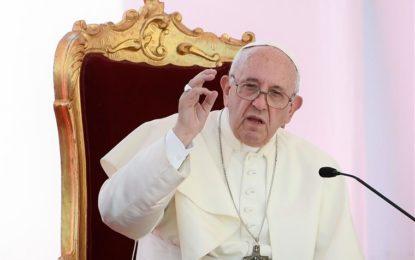 Papa apoia pedido do chefe da ONU por cessar-fogo global