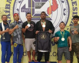 Guadalupe conquista dois Ouros e uma Prata no campeonato de Jiu-Jitsu em Teresina