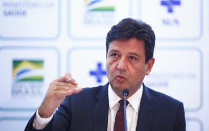 Ministro da Saúde reforça a necessidade de isolamento social no Brasil