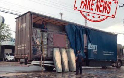 Pax União desmente boato sobre carregamento de caixões em Teresina