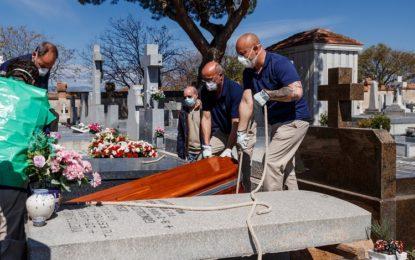 Espanha registra novo pico de mortes: 849 nas últimas 24h