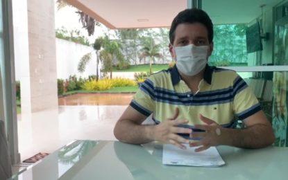 Marcelo Magno foi o primeiro piauiense a ser curado do coronavírus.