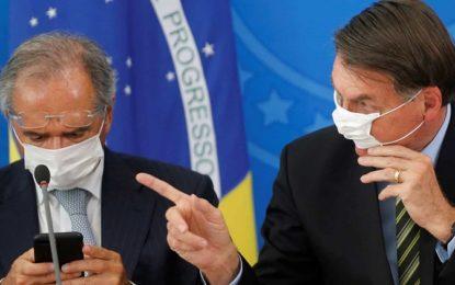 Bolsonaro autoriza corte de 50% dos salários