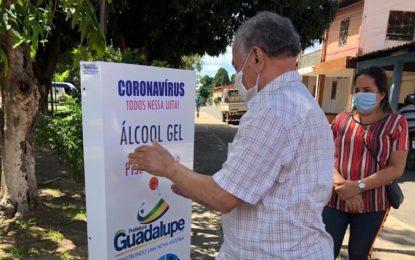 Prefeitura de Guadalupe investe em mais proteção contra a Covid-19.