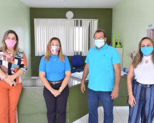 Prefeitura de Guadalupe destina espaço para testagem e para possíveis pacientes suspeitos de Covid-19.