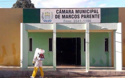Prefeitura de Marcos Parente faz aquisição de equipamentos para facilitar a desinfecção de ruas.