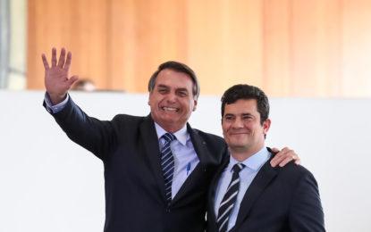 Moro deve assistir essa semana à gravação em que Bolsonaro ameaça demiti-lo