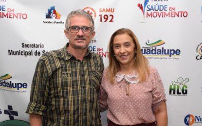 Prefeitura de Guadalupe informa o primeiro caso da Covid-19.