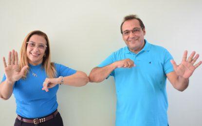 Neidinha Lima e Edivan Miranda declaram parceria administrativa e política em Guadalupe