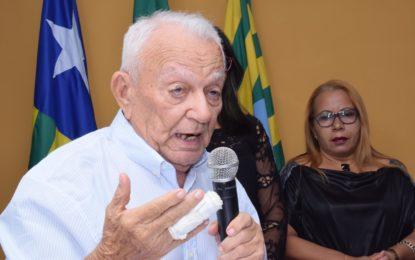 Ex-prefeito José Jociler Pereira completa seus 90 anos.