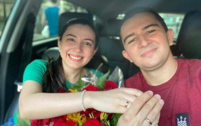 Jovem monta blitz falsa para pedir namorada em casamento no Piauí