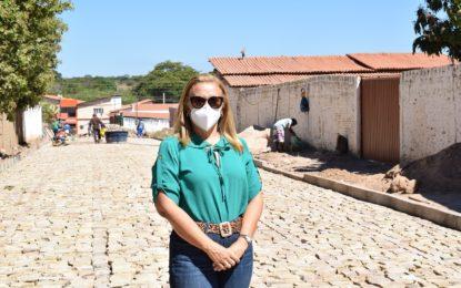 Guadalupe ganha novas ruas com pavimentação em vários bairros
