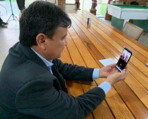 W. Dias comemora o índice de isolamento e alerta sobre mortes