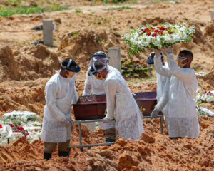 Dez estados e o DF têm alta nas mortes por Covid-19