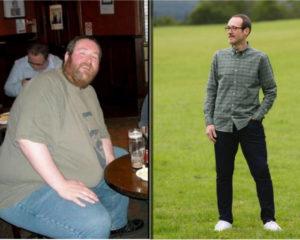 Homem perde 136kg depois de ver a mãe lutar contra o câncer