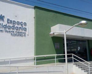 Espaços da Cidadania atenderão por agendamento em Floriano, Teresina, Parnaíba e Picos