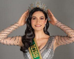 Gaúcha Julia Gama é eleita Miss Brasil 2020 em cerimônia online