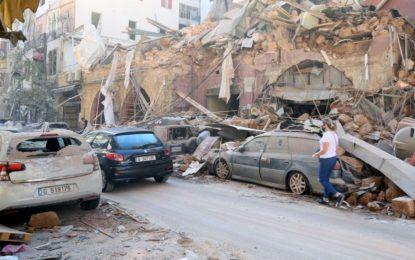 Com mais de 300 mil desabrigados, Beirute tem cenário de guerra