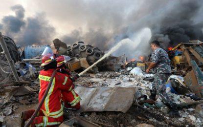 Explosão em Beirute: número de mortos chega a 135, diz Ministério da Saúde