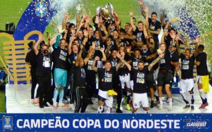 Ceará vence Bahia e é bicampeão invicto da Copa do Nordeste