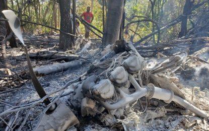 Avião cai na zona rural de Teresina e o piloto morre carbonizado