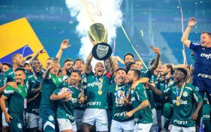 Palmeiras vence Corinthians e é campeão do Paulistão