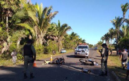Acidente com três motos no norte do Piauí deixa duas pessoas mortas