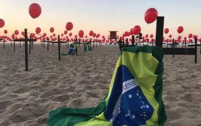 Brasil atinge a marca de 100 mil mortos pela Covid-19