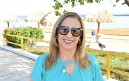 Neidinha Lima lidera pesquisa eleitoral com ampla vantagem em Guadalupe