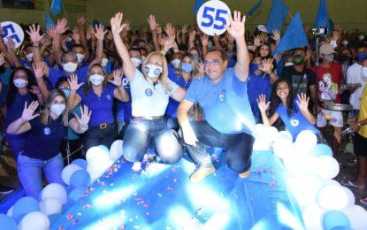 PSD de Guadalupe realiza convenção para homologar os nomes de Neidinha Lima e Edivan Miranda